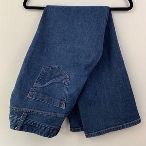Lane Bryant slim bootcut denim jeans